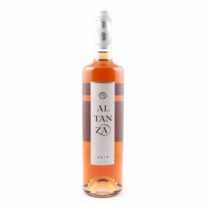 fles rose wijn Altanza