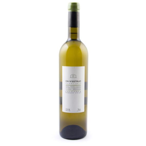 fles witte wijn Ca Nestruc