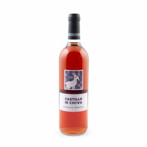 fles rose wijn Castillo De Chiva