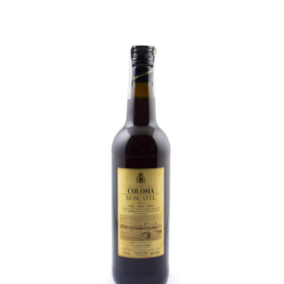 fles Colosia Moscatel cherry