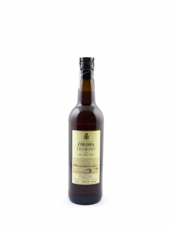 fles van very sherry Colosia Oloroso Seco