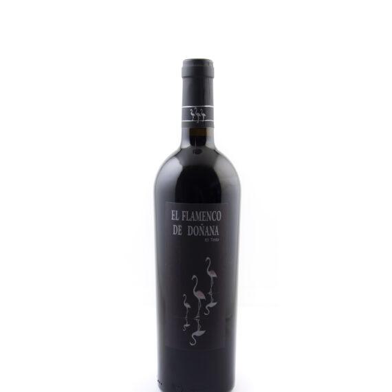 fles rode wijn El Flamenco